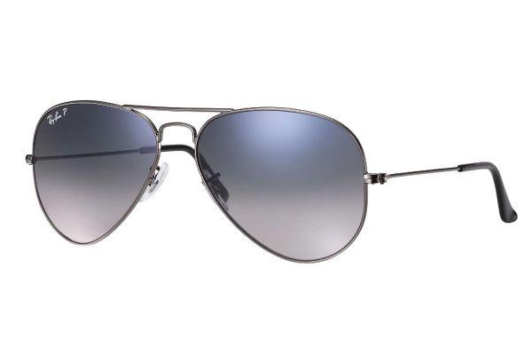 Large image of Ray-Ban Aviator Gradient Gunmetal Unisex Sunglasses - RB30250047855