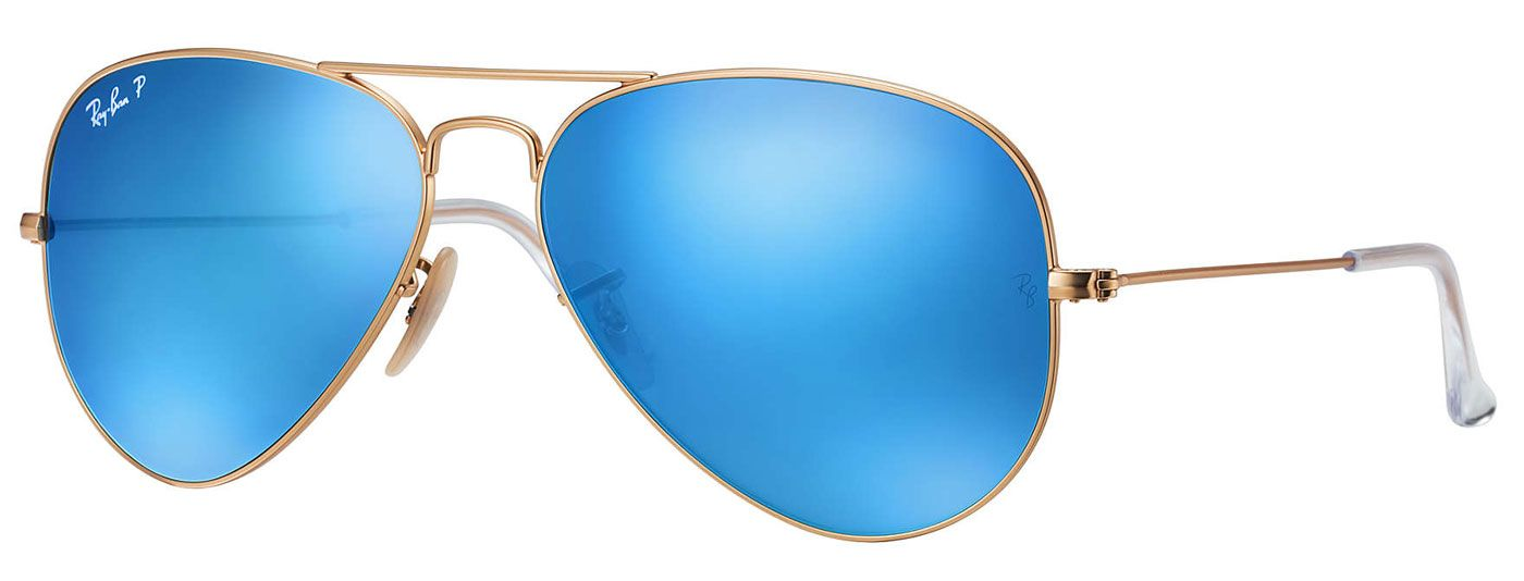 cc29aa0f55361 Ray-Ban Aviator Polarized Blue Flash Unisex Sunglasses - RB3025 112 4L 58