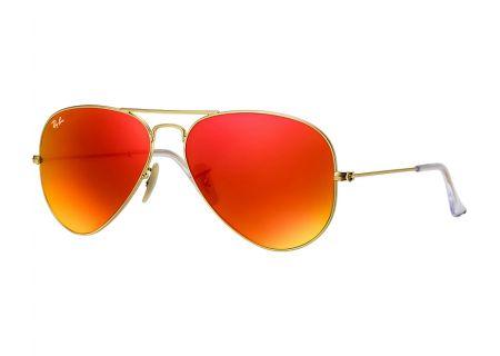 Ray-Ban Aviator Gold Unisex Sunglasses - RB3025 112/69 58