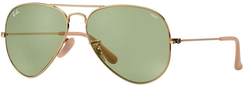 b54a3f21ef6a Ray-Ban Aviator Evolve Gold Unisex Aviator Sunglasses - RB3025 90644C 58-14