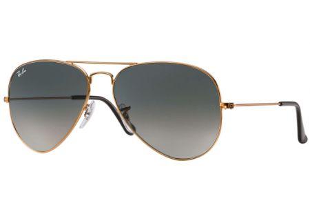 Ray-Ban Aviator Gradient Bronze Unisex Sunglasses - RB3026 197/71 62-14