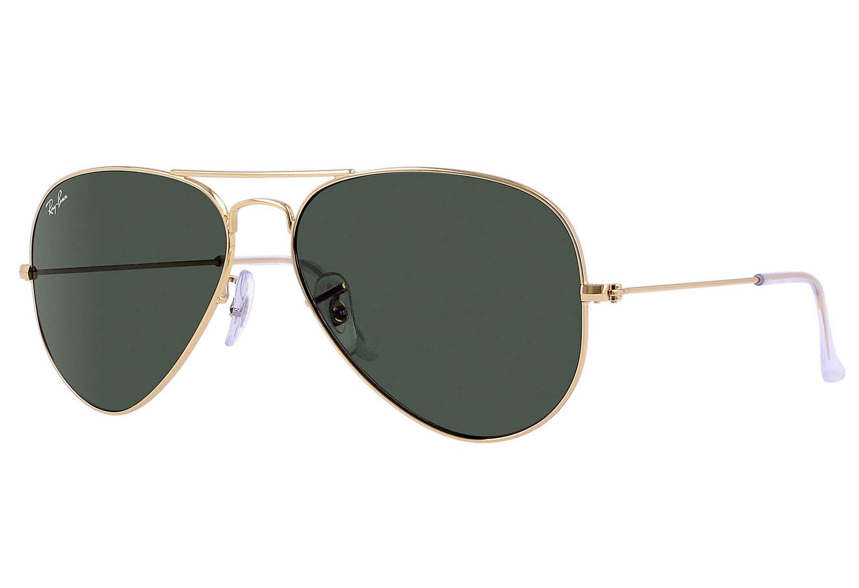 Big Gold Frame Sunglasses : Ray-Ban Aviator II Unisex Sunglasses - RB3026 L2846 62-14
