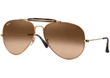 Ray-Ban Outdoorsman II Bronze Unisex Sunglasses - RB3029 9001A5 62-14