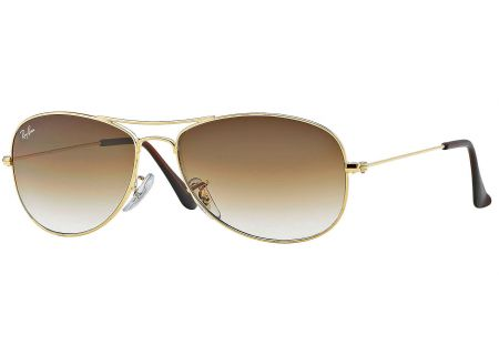 Ray-Ban Cockpit Arista Aviator Unisex Sunglasses - RB3362 001/51 59