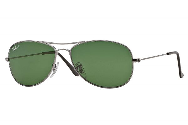 Ray-Ban Cockpit Gunmetal Polarized Unisex Sunglasses - RB3362 004/58