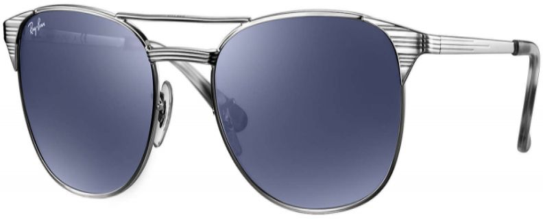 f32419551e8 Ray-Ban Signet Silver Unisex Sunglasses - RB3429M 003 R5 58-19