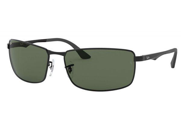 Ray-Ban RB3498 Rectangle Black Mens Sunglasses - RB34980027161
