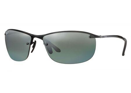 Ray-Ban Rectangle Polarized Grey Mirror Chromance Sunglasses - RB3542 002/5L 63