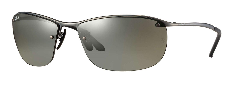 Ray-Ban Polarized Silver Mirror Chromance Mens Sunglasses - RB3542 029 5J 63 12f3712bfbea