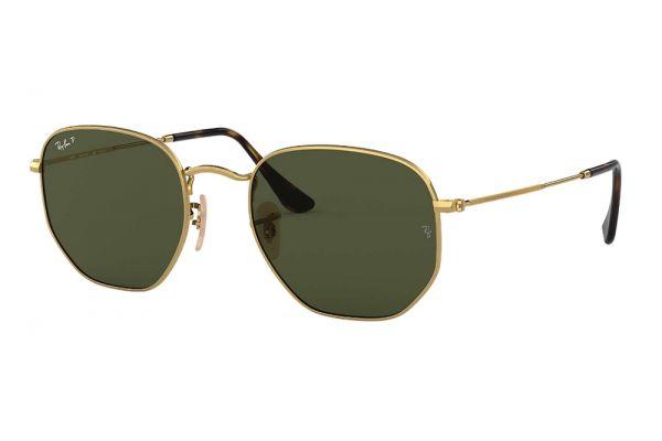 Large image of Ray-Ban Hexagonal Flat Lenses Sunglasses - RB3548N001-58-51