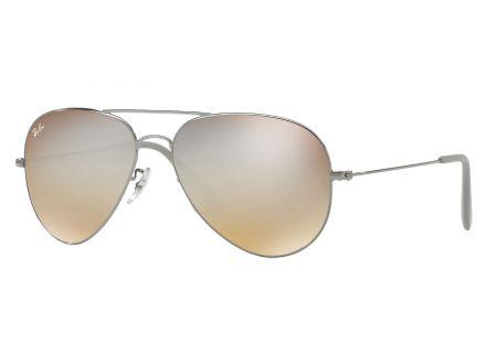 Ray-Ban Aviator Silver Gradient Flash Unisex Sunglasses - RB3558 004/B8 58