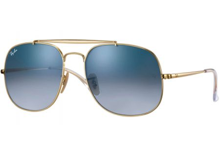 Ray-Ban General Clubmaster Dark Green Silver Unisex Sunglasses - RB3561 001/3F 57-17