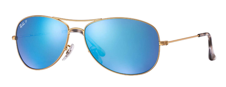 6b8662cf8 Ray-Ban Aviator Polarized Blue Mirror Chromance Sunglasses - RB3562 112/A1  59