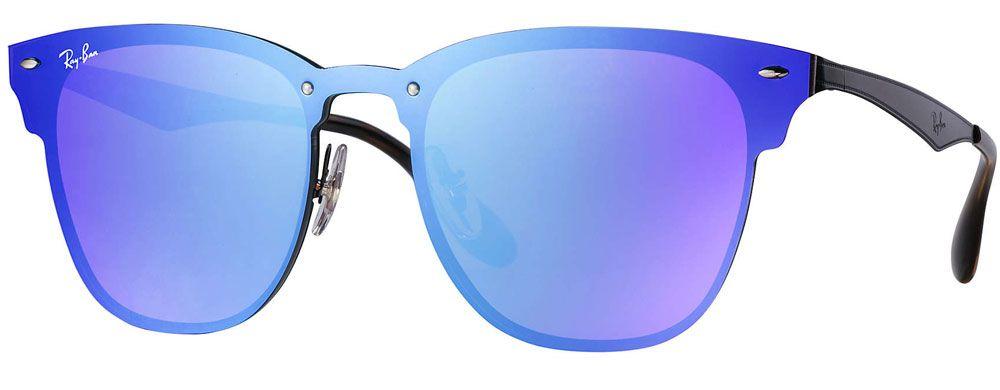 d060ebc896 Ray-Ban Blaze Clubmaster Violet Blue Gradient Unisex Sunglasses - RB3576N  153 7V 47-147