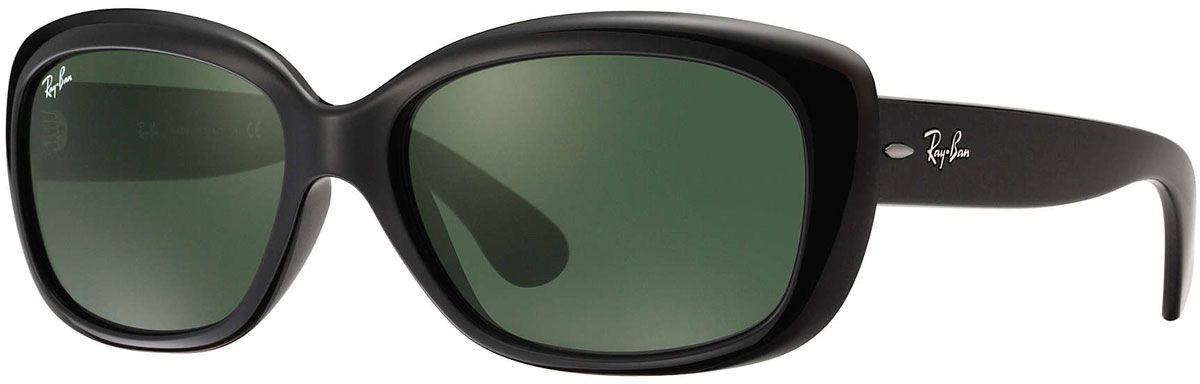 Ray-Ban Jackie Ohh Black Womens Sunglasses - RB4101 601 58-17 4257f9ee3509