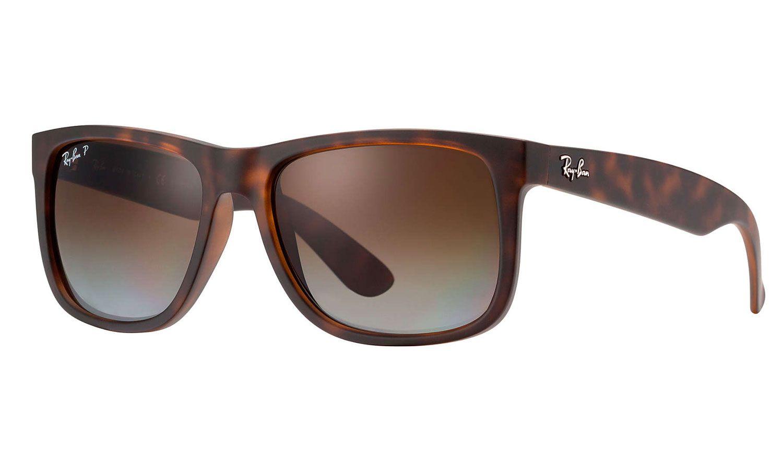 204f427946 Ray-Ban Justin Havana Unisex Sunglasses - RB4165 865 T5