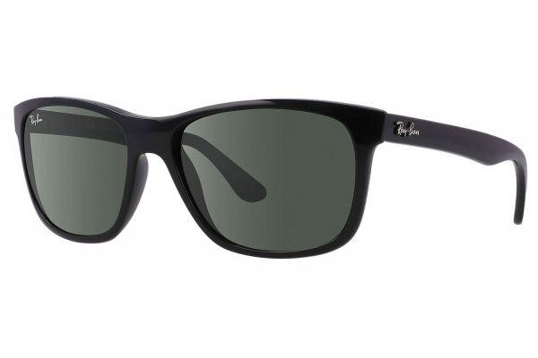 Ray-Ban RB4181 Black Square Womens Sunglasses - RB4181 601 57