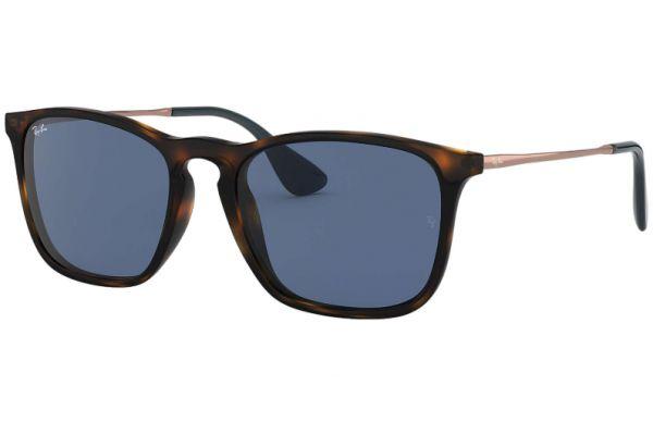Ray-Ban Chris Blue Classic Brown Mens Sunglasses - RB418763908054