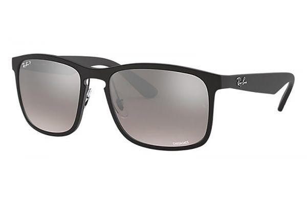 Large image of Ray-Ban Chromance Polarized Silver Mirror Gradient Unisex Sunglasses - RB4264601S5J58