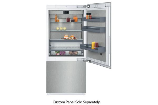 "Gaggenau 36"" 400 Series Panel Ready Bottom Freezer Refrigerator - RB 492 704"