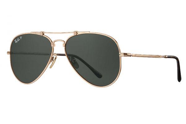 Large image of Ray-Ban Aviator Titanium Sunglasses - RB8125M914358