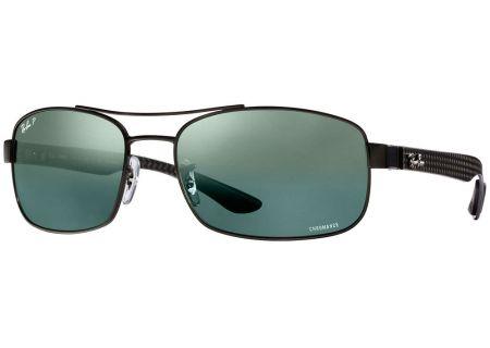 Ray-Ban Grey Mirror Chromance Mens Sunglasses - RB8318CH 002/5L 62-18
