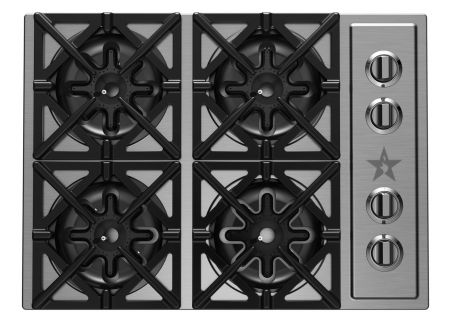 "BlueStar 30"" Stainless Steel Gas Cooktop - RBCT304BSSV2"