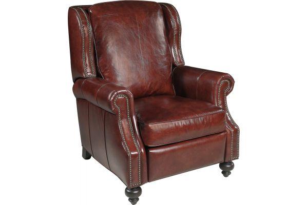 Large image of Hooker Furniture Living Room Drake Recliner - RC140-085