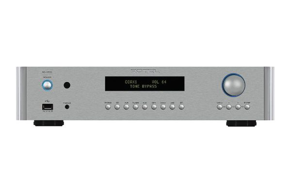 Large image of Rotel Silver Stereo Preamplifier - RC1572SIL