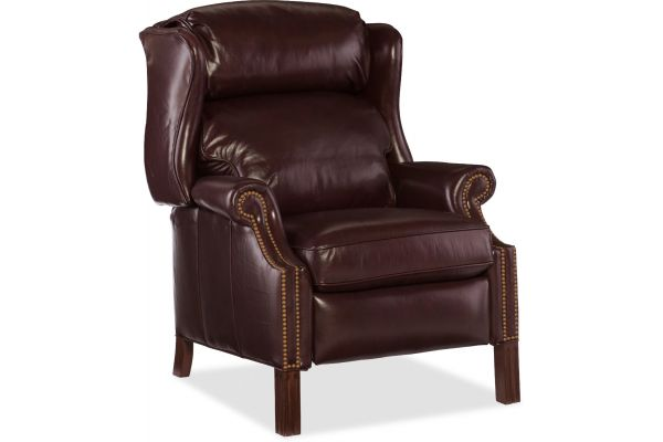 Large image of Hooker Furniture Living Room Finley Recliner - RC214-218