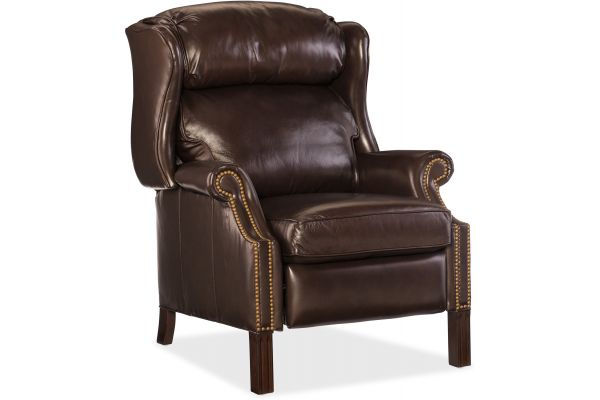 Large image of Hooker Furniture Living Room Finley Recliner - RC214-219