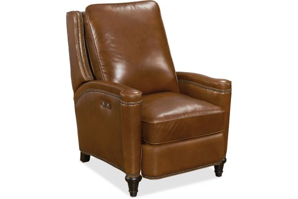 Large image of Hooker Furniture Living Room Rylea Power Recliner - RC216-PWR-086