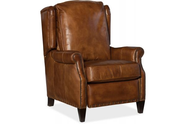 Large image of Hooker Furniture Living Room Silas Recliner - RC273-086