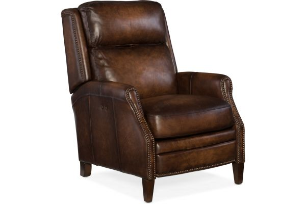 Large image of Hooker Furniture Living Room Zephyr Power Recliner - RC413-PWR-085