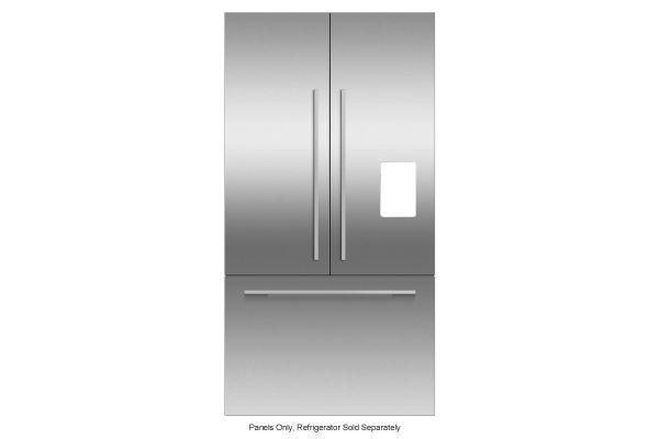 Fisher & Paykel EZKleen Stainless Steel Door Panel And Handle Kit With Water Dispenser - RD3672UUB