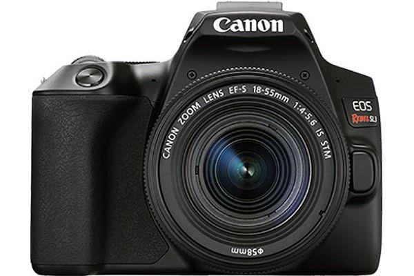 Large image of Canon EOS Rebel SL3 EF-S 18-55mm IS STM Lens Kit - 3453C002