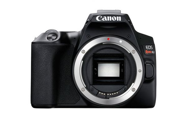 Large image of Canon EOS Rebel SL3 Black Digital Camera - 3453C001