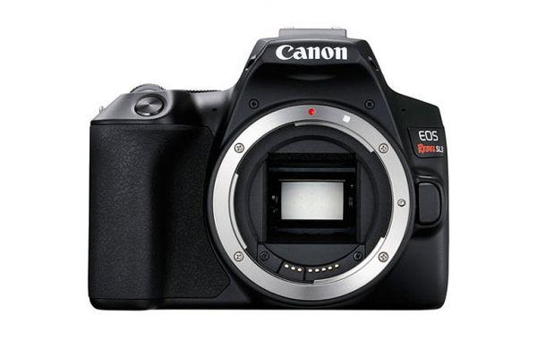 Large image of Canon EOS Rebel SL3 Black Digital Camera - 3453C001
