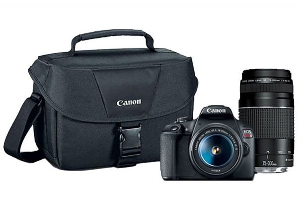 Canon EOS Rebel T7 Double Zoom Lens Kit - 2727C021
