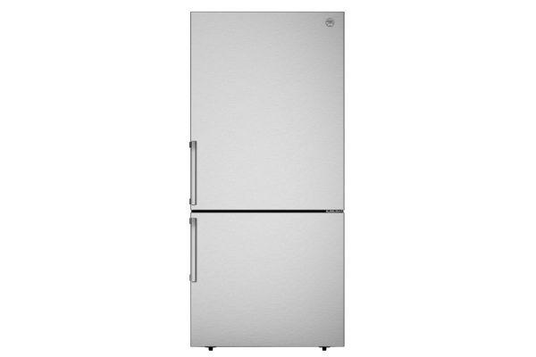 "Large image of Bertazzoni Professional Series 31"" Stainless Steel Freestanding Bottom Mount Refrigerator - REF31BMFIX"