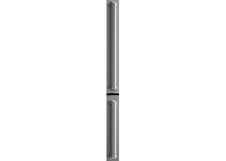 Bertazzoni Master Series Handle Kit For Bottom Freezer Refrigerators - MASHK31BM