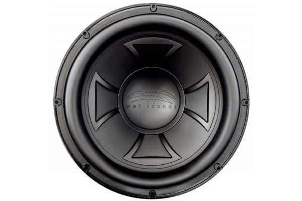 "Wet Sounds Black 15"" Wet Sounds SPL Marine Subwoofer - REVO 15 XXX V4 B"