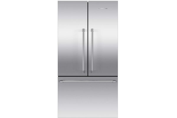 Large image of Fisher & Paykel 20.1 Cu. Ft. Stainless Steel French Door Refrigerator Freezer - RF201ACJSX1N