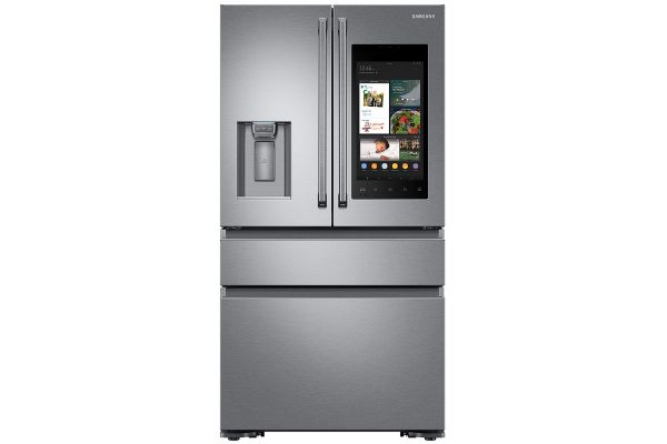 Samsung Stainless Steel Counter-Depth 4-Door Refrigerator With Family Hub - RF23M8590SR