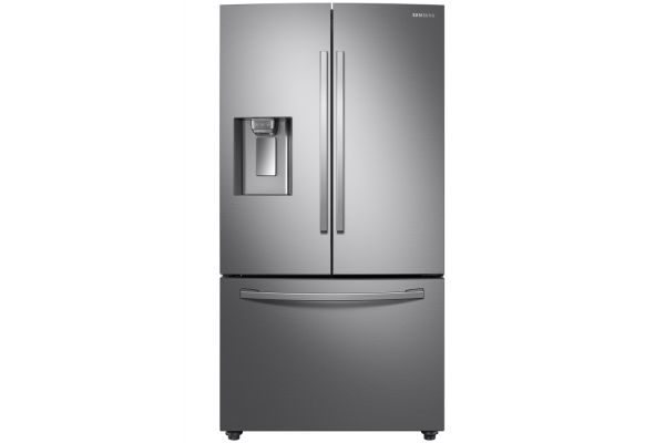 Samsung Counter Depth Fingerprint Resistant Stainless Steel French Door Refrigerator - RF23R6201SR