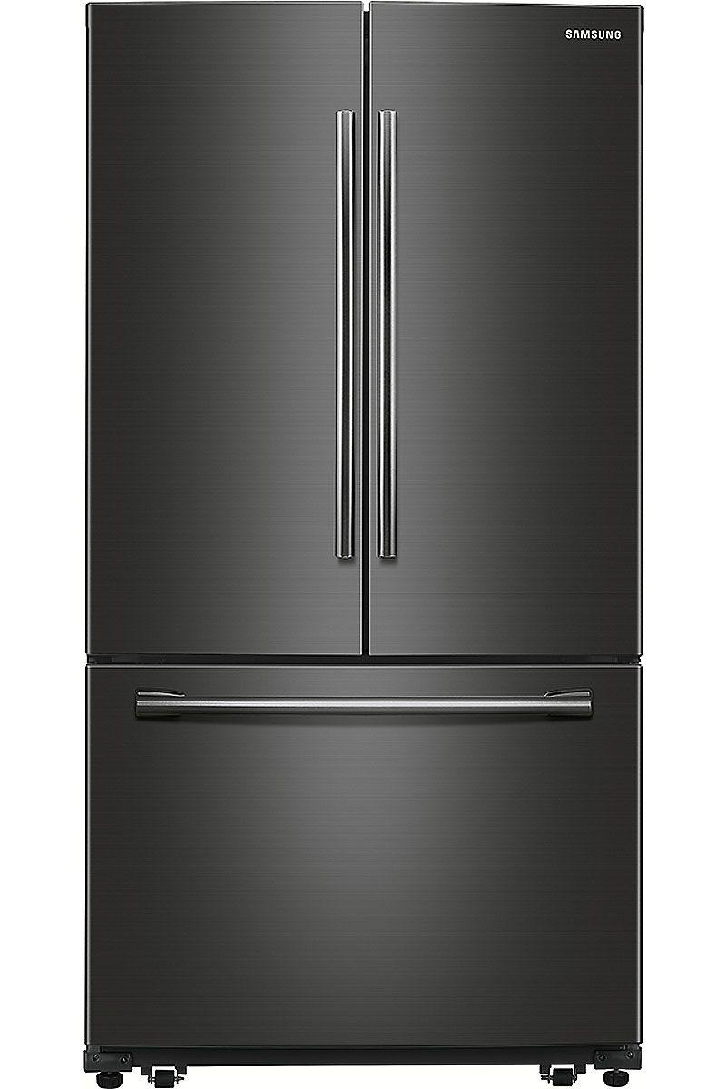 Samsung black stainless french door rf261beaesg samsung rf261beaesg french door refrigerators rubansaba