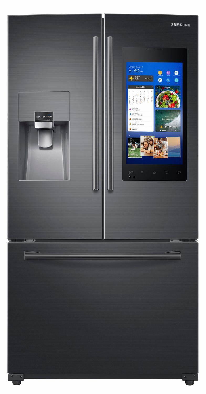 Samsung Black Stainless French Door Refrigerator RF265BEAESG