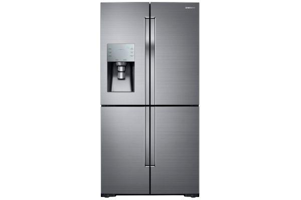 Samsung Stainless Steel 4-Door Flex Refrigerator - RF28K9070SR