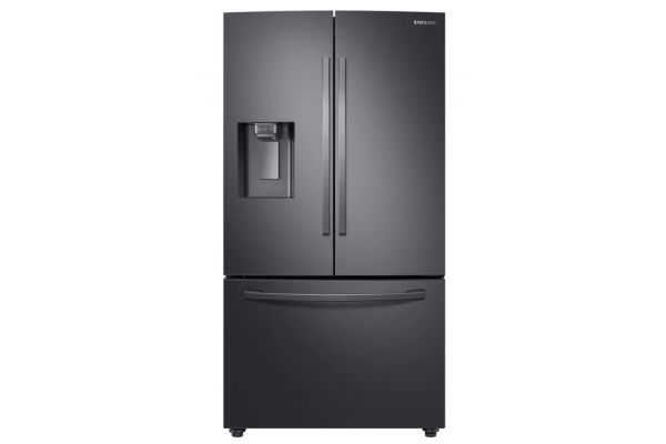 Samsung 28 Cu. Ft. Black Stainless Steel 3-Door French Door Refrigerator With CoolSelect Pantry - RF28R6201SG