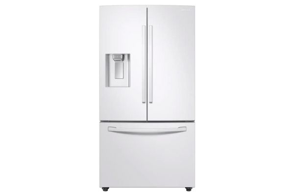 Samsung 28 Cu. Ft. White 3-Door French Door Refrigerator With CoolSelect Pantry - RF28R6202WW